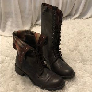 Shoes - Fashion faux leather boots